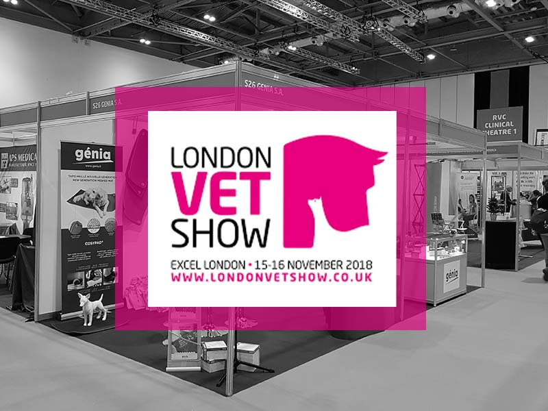 Genia at the London Vet Show 2018