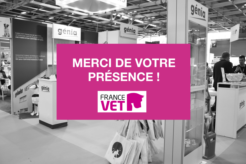 Génia était présent à France Vet 2019