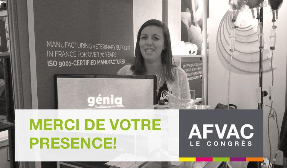 Merci d'être venu durant l'AFVAC 2019 !